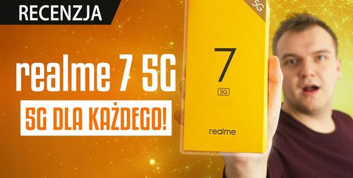 5G dla każdego - Recenzja realme 7 5G