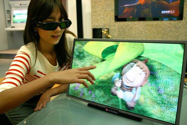 Monitor LG 3D Full HD