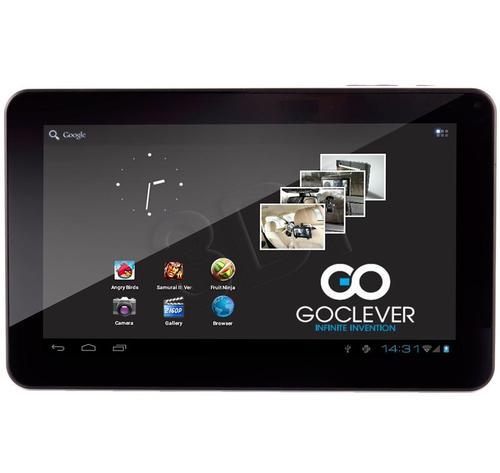 """GOCLEVER A93 Cortex-A8 512MB 9"""" 4GB MLC NAND flash Wi-Fi b/g/n"""