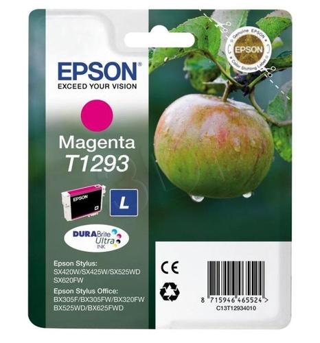 EPSON Tusz Czerwony T1293=C13T12934011, 7 ml
