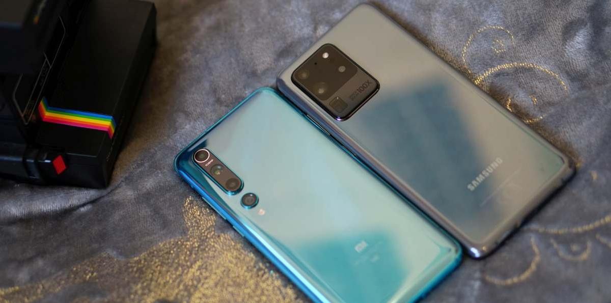 Xiaomi Mi 10 jest spore, ale Samsung Galaxy S20 Ultra - jeszcze większy