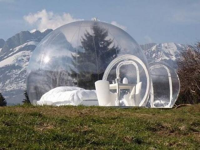 Luksusowy Namiot Przezroczysty na Wakacje za Jedyne 30 tysięcy... Dolarów