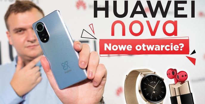 Premiera Huawei Nova 9, Watch 3 GT i Freebuds Lipstick- Nowe otwarcie?