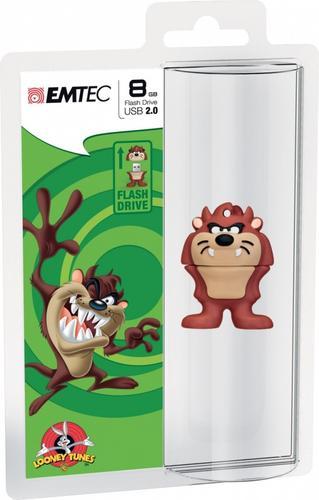 EMTEC Pendrive 8GB Taz Looney Tunes LT103
