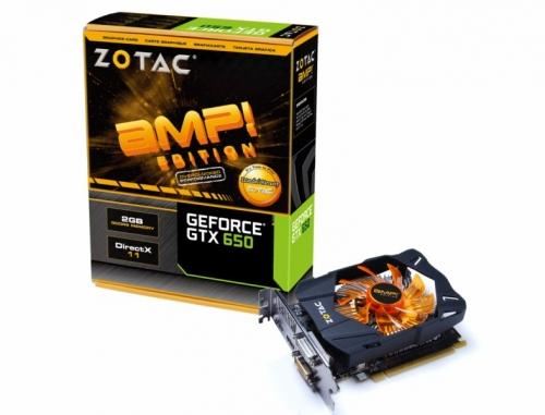 ZOTAC GeForce GTX 650 AMP!