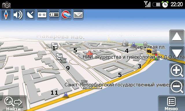 Navitel 500 mapa