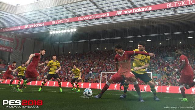 Pro Evolution Soccer 2018 - Świetna gra o piłce nożnej