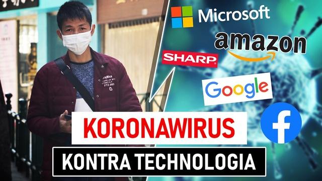 Koronawirus: Sharp produkuje maski, firmy anulują eventy