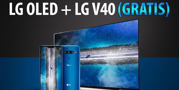 Telewizor LG OLED + LG V40 GRATIS - Promocja na którą warto się spieszyć