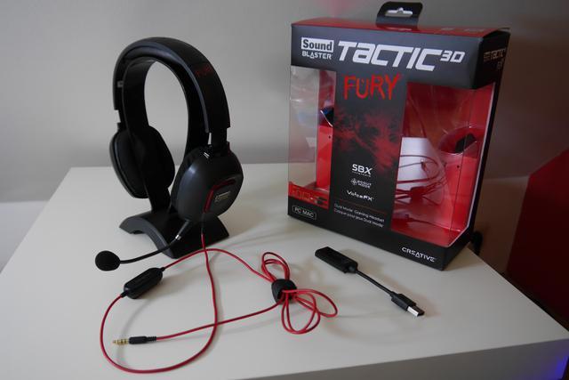 Sound Blaster Tactic 3D Fury