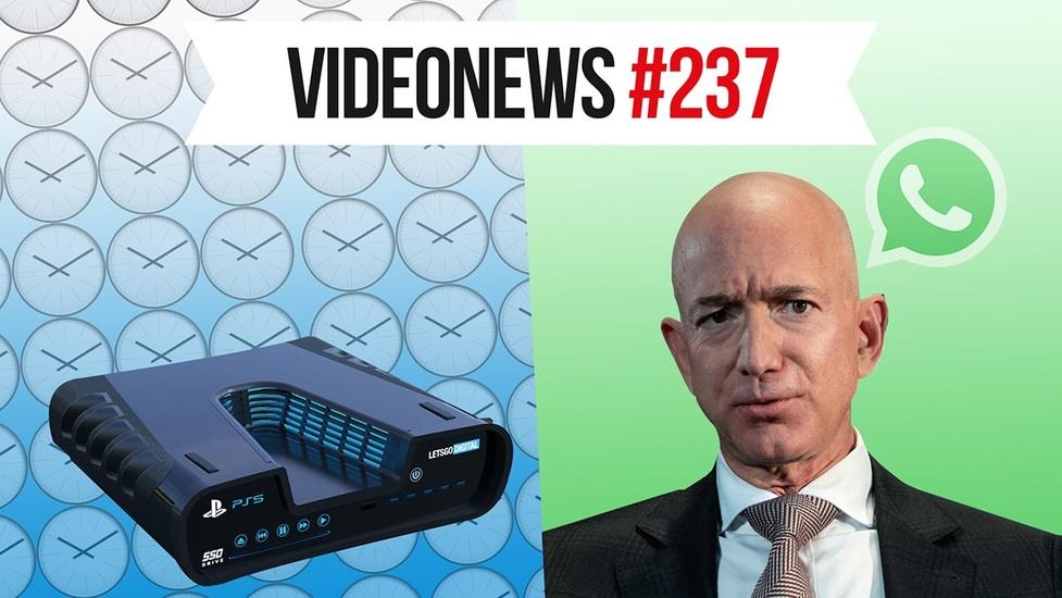 Dlaczego PS5 się spóźnia, a Jeff Bezos stracił kontrolę - VideoNews #237