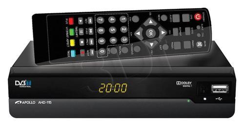 Apollo AHD-116 Dekoder DVB-T i odtwarzacz FHD