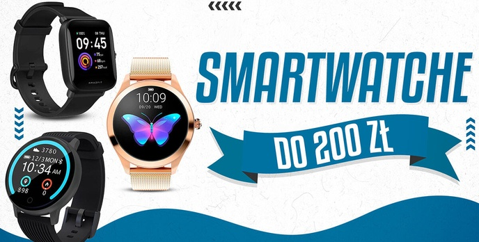 Jaki smartwatch do 200 zł | TOP 5 |