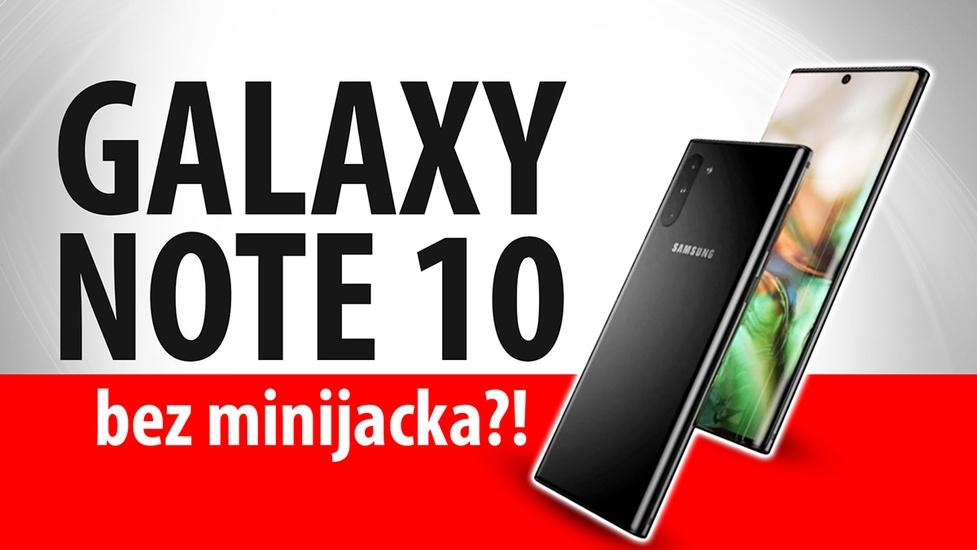 Galaxy Note 10 BEZ minijacka?! Przecieki przed premierą