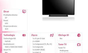 Toshiba 32'' LED 32L2433DG
