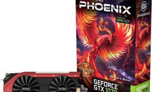 Gainward GeForce GTX 1070 Phoenix GS 8GB GDDR5 (256 bit) HDMI, DVI-D, 3x DP, BOX (426018336-3682)