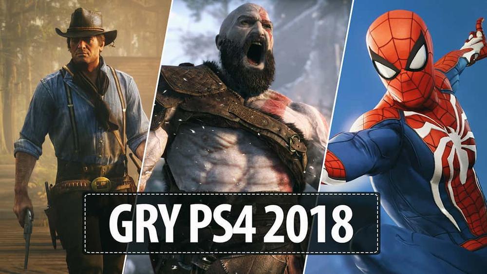 Najlepsze gry PS4 2018  TOP 10 