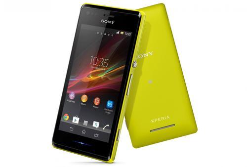 Sony Xperia M SINGLE SIM YELLOW
