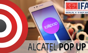 Przystępny Alcatel OneTouch Pop Up Prosto z IFA 2015
