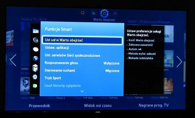 Samsung Smart TV 46UF8000 fot7