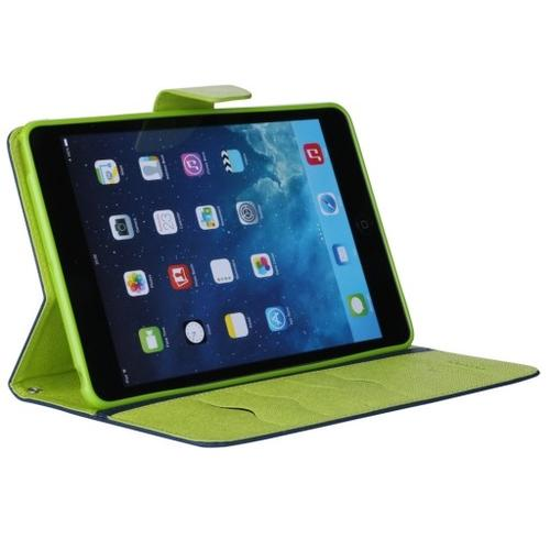 WEL.COM Etui Fancy Diary do Sony Tablet Z2 granatowo-limonkowe