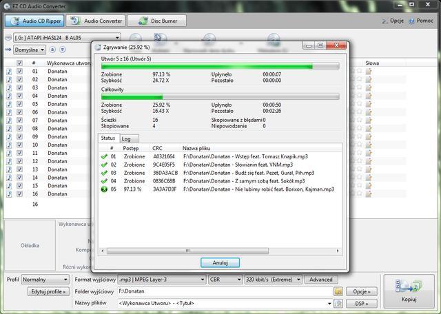 EZ CD Audio Converter 3