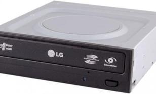 Popularna nagrywarka DVD z prędkością zapisu 22x - LG GH22LS50