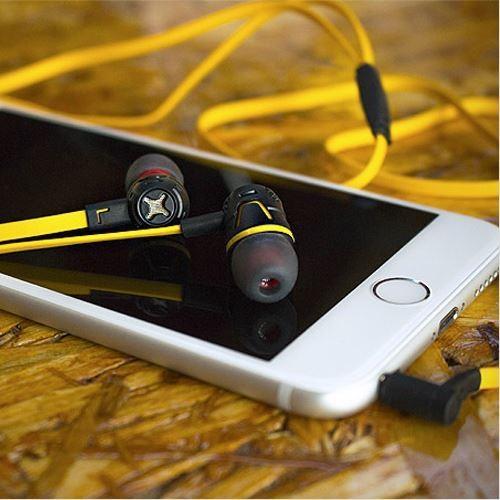Cresyn C450s Słuchawki do Smartphona (mic+pilot) żółte