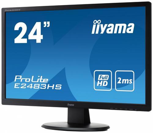 iiyama 24'' E2483HS-B1 HDMI/DVI/GLOSS/FHD