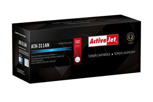 ActiveJet ATH-311AN cyan toner do drukarki laserowej HP (zamiennik 126A CE311A) Premium
