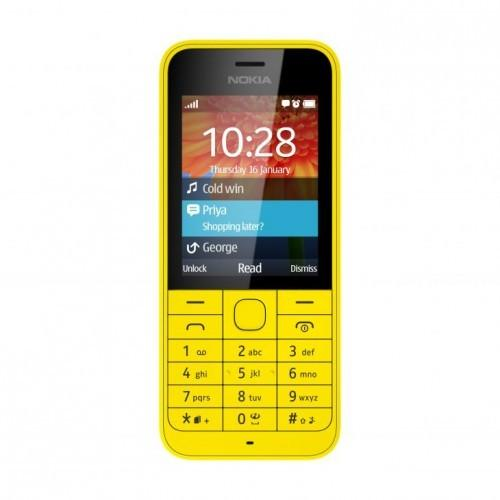 Nokia 220 DS NV PL YELLOW