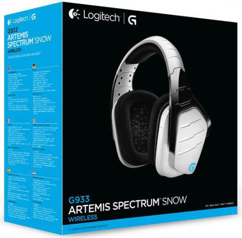 Logitech G933 Artemis Spectrum Snow (981-000621)