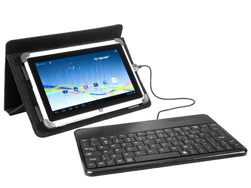 Tracer Etui z klaw. do Tabletu 7'-8' SmartFit White