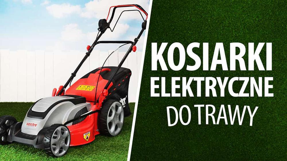 Kosiarki elektryczne do trawy |TOP 7|