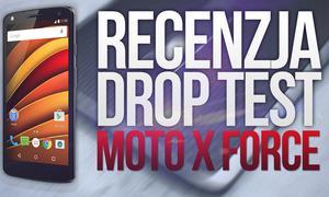 Lenovo Moto X Force - Recenzja - Drop Test - Opinia - Cena