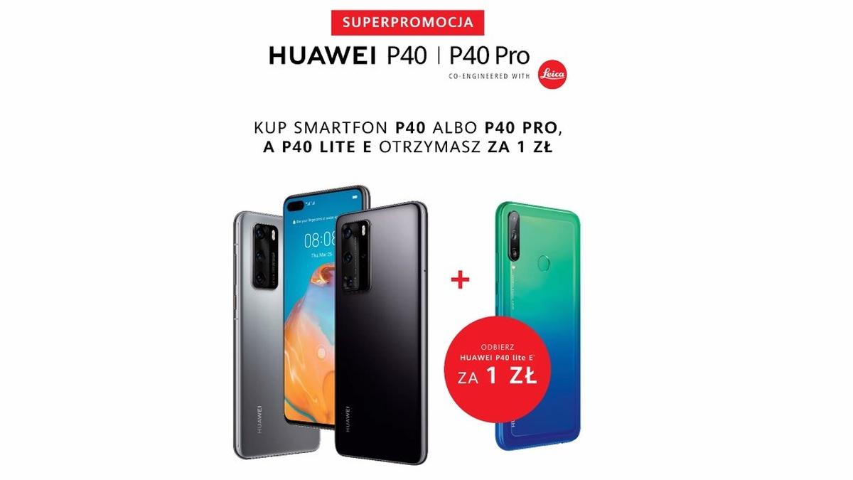 Zamówienie ze strony Huawei.pl da nam dodatkowe promocje