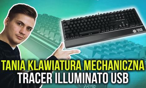 Tania Klawiatura Mechaniczna - Tracer Illuminato USB