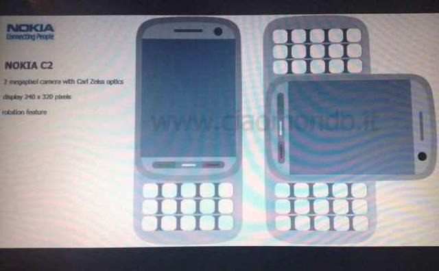 Nokia C2 – pierwsze zdjęcia