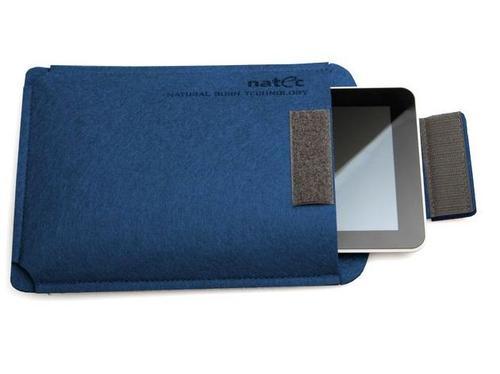 NATEC Etui Tablet SHEEP 10'' Granatowy-Czerwony