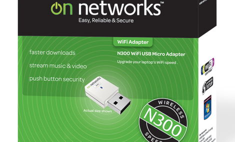 On Networks karta sieciowa WiFi N300MA USB [TEST]