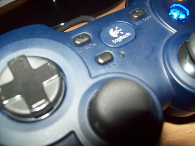 Logitech Gamepad F310 Mode