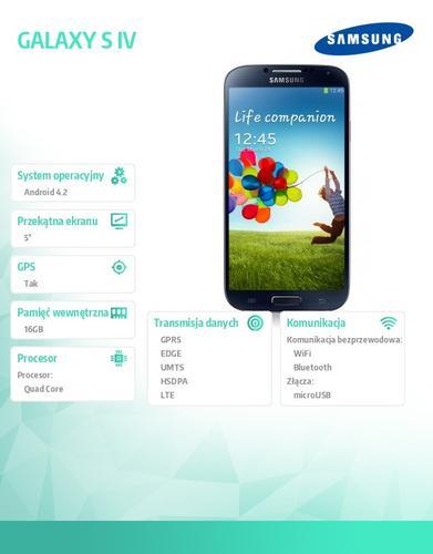 Samsung I9505 GALAXY S IV Black LTE