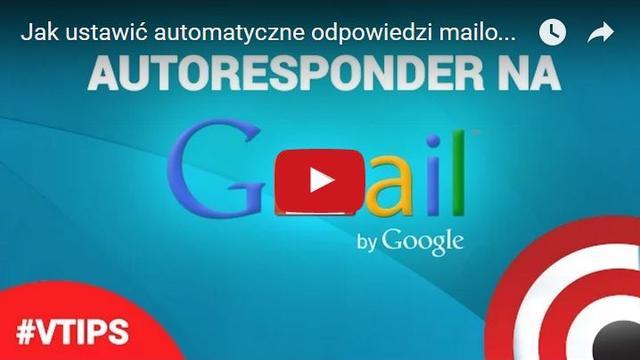 Jak Ustawić Automatyczne Odpowiedzi Mailowe - Autoresponder Gmail