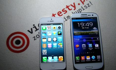 Iphone 5 vs Samsung Galaxy S 3 [TEST]