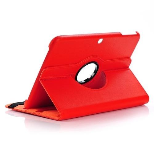 """WEL.COM Etui obrotowe Samsung Galaxy Tab S 10.5"""" czerwone"""