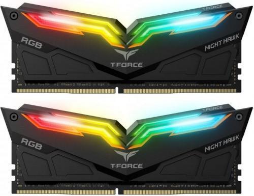 Team Group Night Hawk RGB DDR4, 2x16GB, 3200MHz, CL16 (TF1D432G3200HC16CDC01)