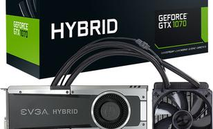EVGA GeForce GTX1070 Hybrid Gaming 8GB GDDR5 (256 Bit) DVI-D, HDMI,