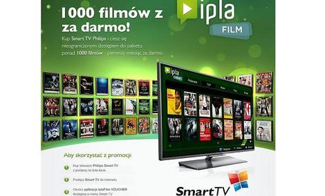 Podłącz telewizor Philips Smart TV z 2011 roku do Internetu i uzyskaj dostęp do ponad 1000 filmów