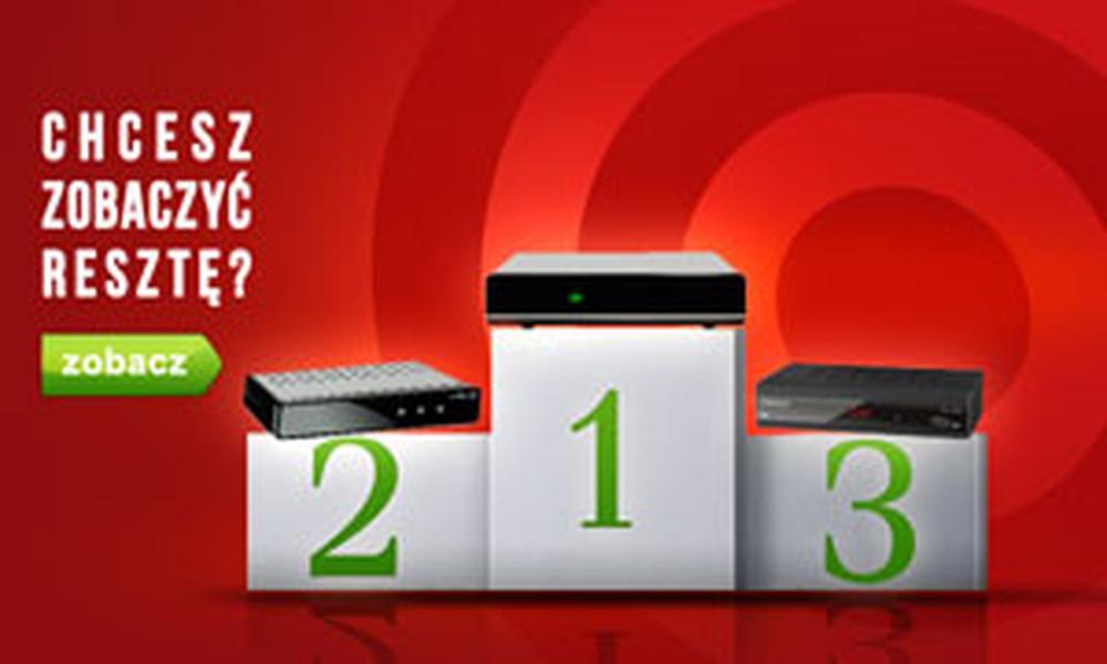 TOP 10 Dekoderów DVB-T - Zestawienie Marzec 2015