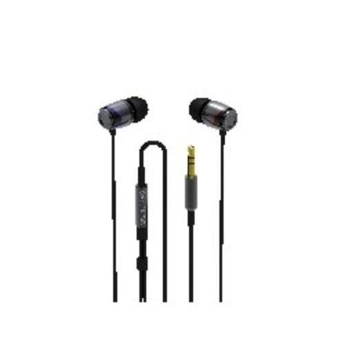 SoundMAGIC E10 Black-Silver Sluchawki dokanalowe